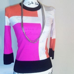 Kate Spade New York Color Block Sweater